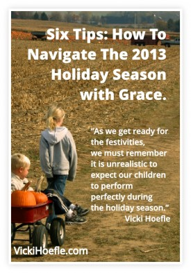 holiday season with grace