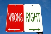 The Moralist - right and wrong